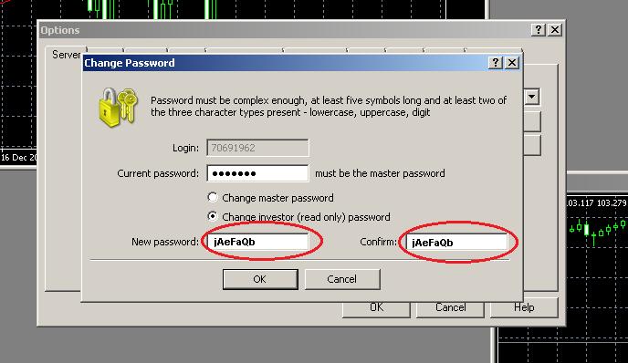 Verificación de MetaTrader